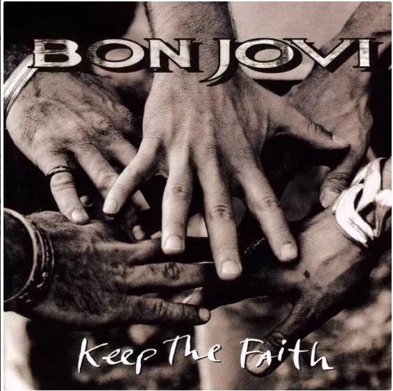 """Bon Jovi – """"Keep The Faith"""" 27 år."""