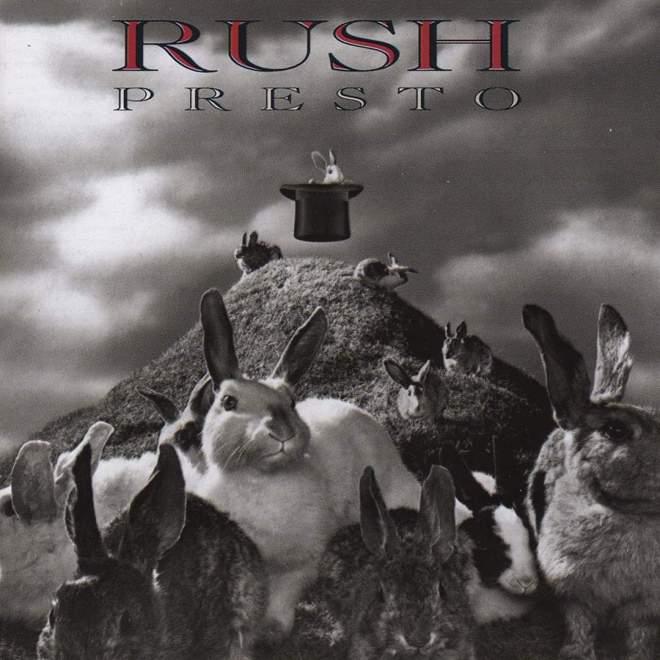 """Rush – """"Presto"""" 30 år."""