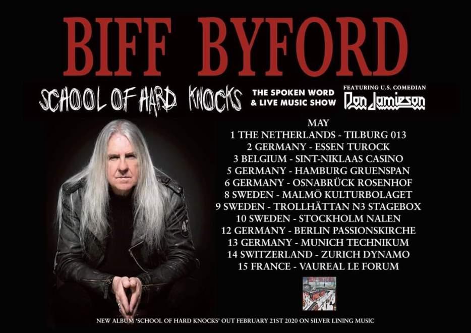 Biff Byford till Sverige!
