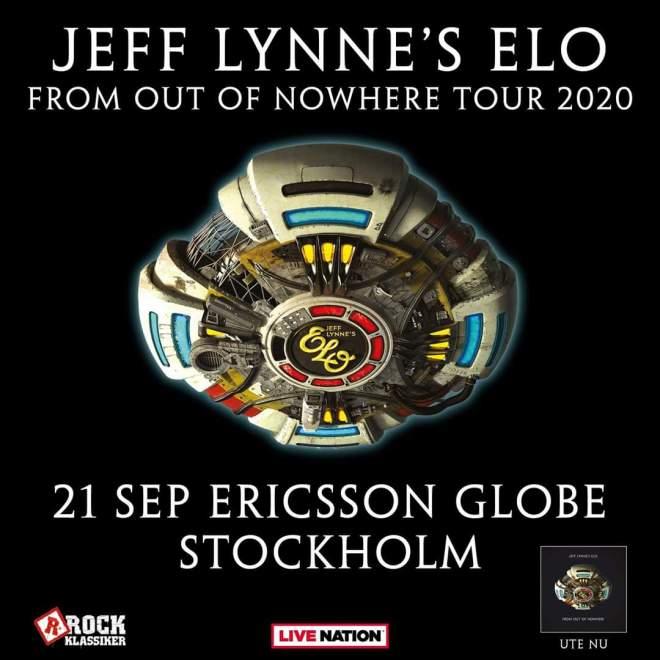 Jeff Lynne's ELO kommer till Stockholm och Globen.