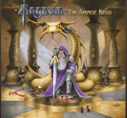 """Magnum har släppt sitt nya album """"The Serpent Rings""""."""