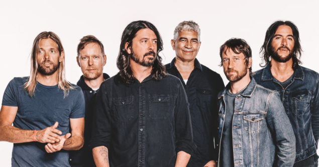 Foo Fighters 25 år.