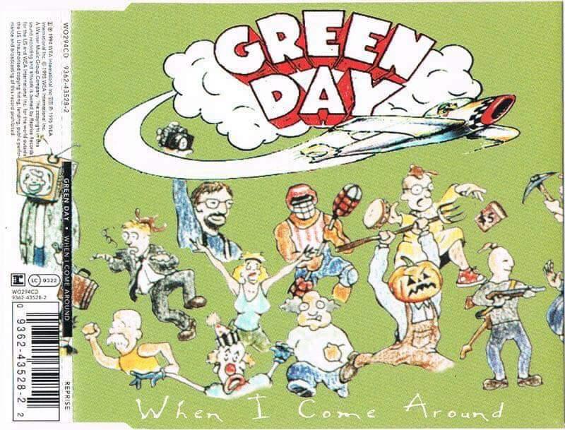 """Green Day – """"When I Come Around"""" (Singel) 25 år."""