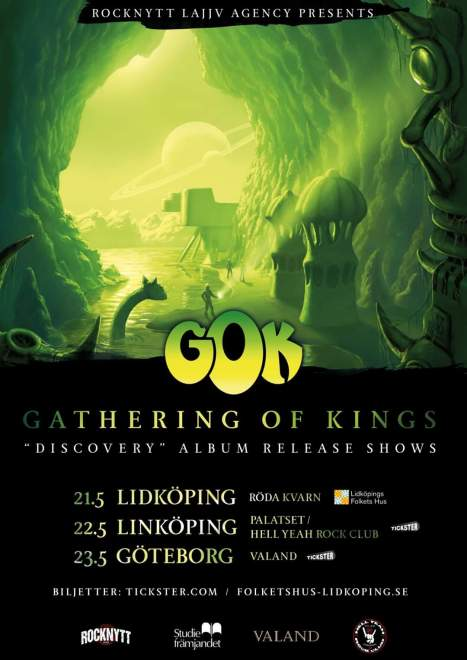 "Gathering of Kings släpper sitt nya album ""Discovery"" 15 Maj!"