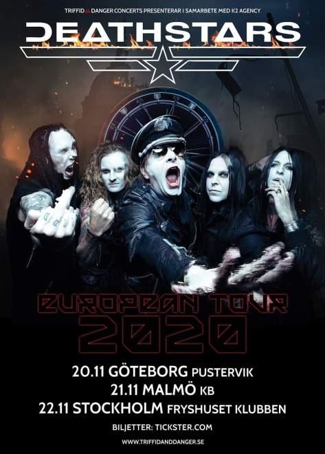 Deathstars flyttar fram turné.