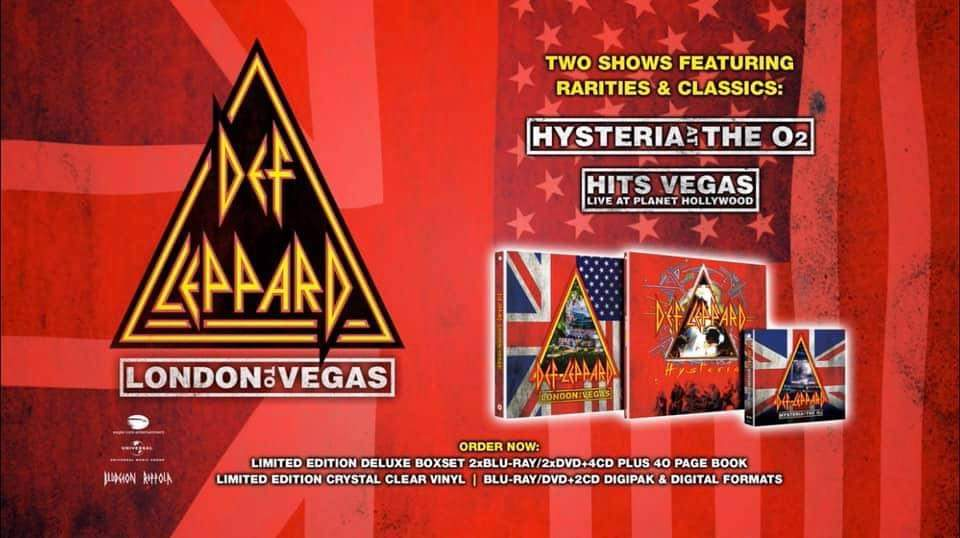 """Ny trailer: Def Leppard – """"London To Vegas Deluxe"""""""
