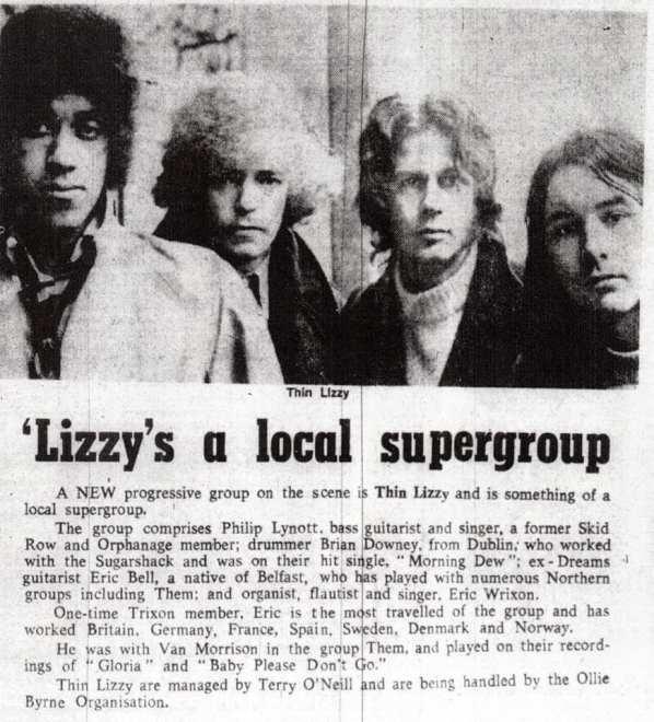 Thin Lizzy firar 50-årsjubileum!