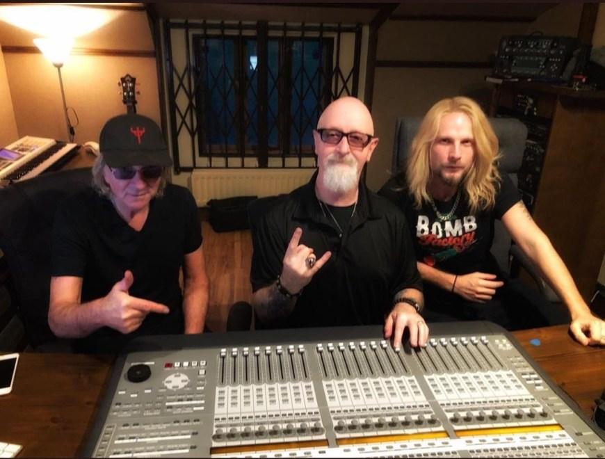 Nytt Judas Priset album har börjat spelas in.