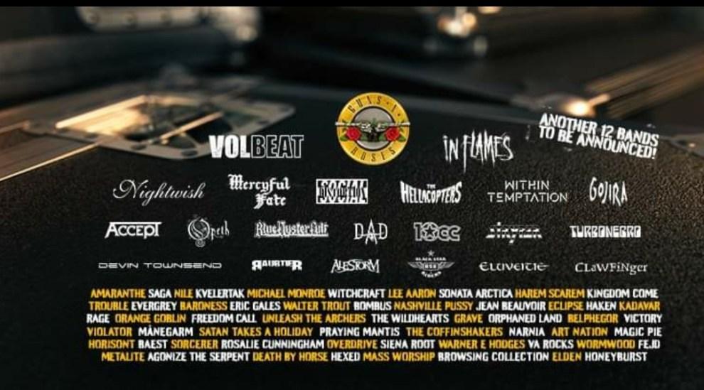 Sweden Rock Festival presenterar 12 nytillskott till sommarens artiststartfält!