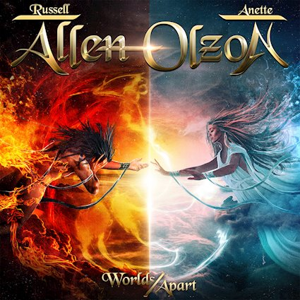 "Ny Skivrecension: Allen/Olzon – ""Worlds Apart""."