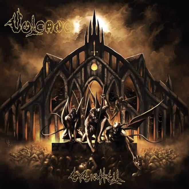 "VULCANO release new album ""Eye In Hell"" tomorrow 🔥"