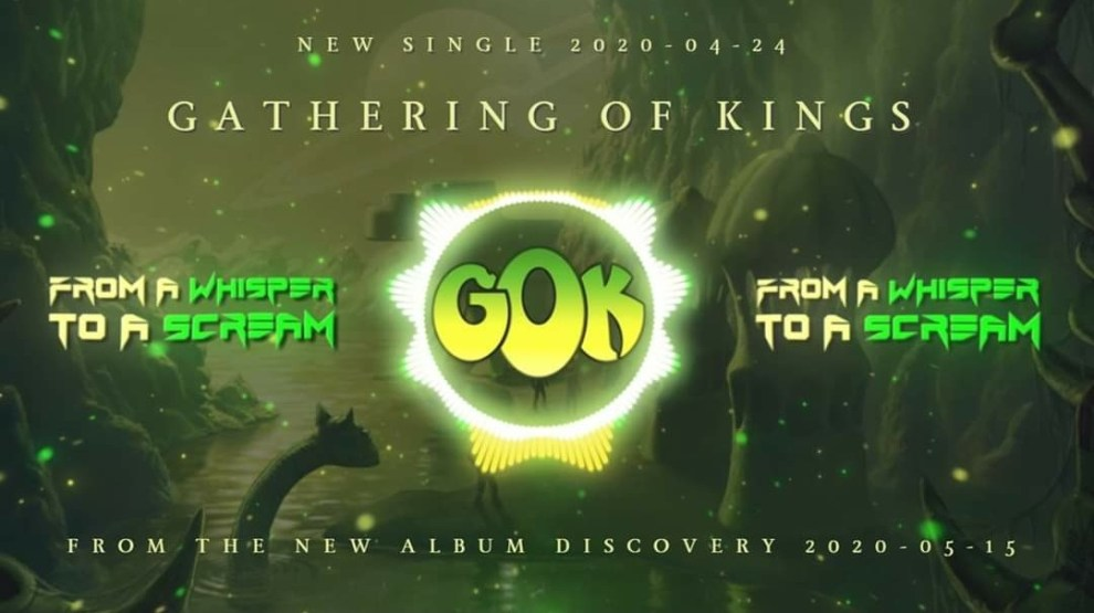 """Ny Skivrecension: Gathering Of Kings – """"From A Whisper To A Scream"""" (Singel)."""