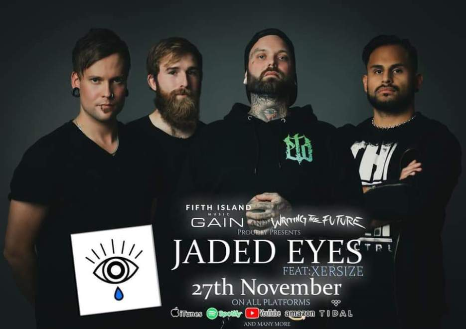 "Ny Video: Writing The Future feat Xersize – ""Jaded Eyes""."