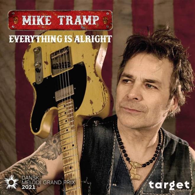 Mike Tramp enters Danish song contest for Eurovision!