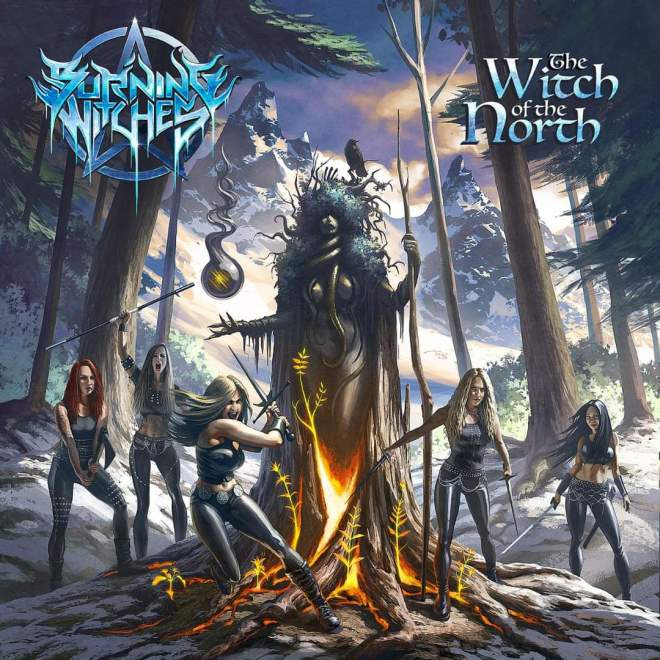 BURNING WITCHES NEW ALBUM TITLE, RELEASE DATE & COVER REVEALED!