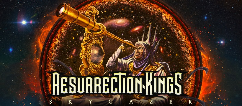 "RESURRECTION KINGS ANNOUNCE SECOND ALBUM""SKYGAZER"" DUE JULY 16, 2021 VIA FRONTIERS MUSIC SRLSINGLE + VIDEO FOR TITLE TRACK OUT NOW"