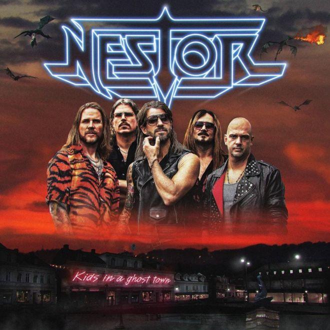 """Ny Skivrecension: Nestor – """"Kids In A Ghost Town""""."""