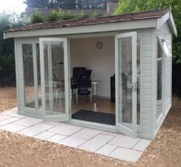 malvern collection of garden offices, garden rooms, garden ...