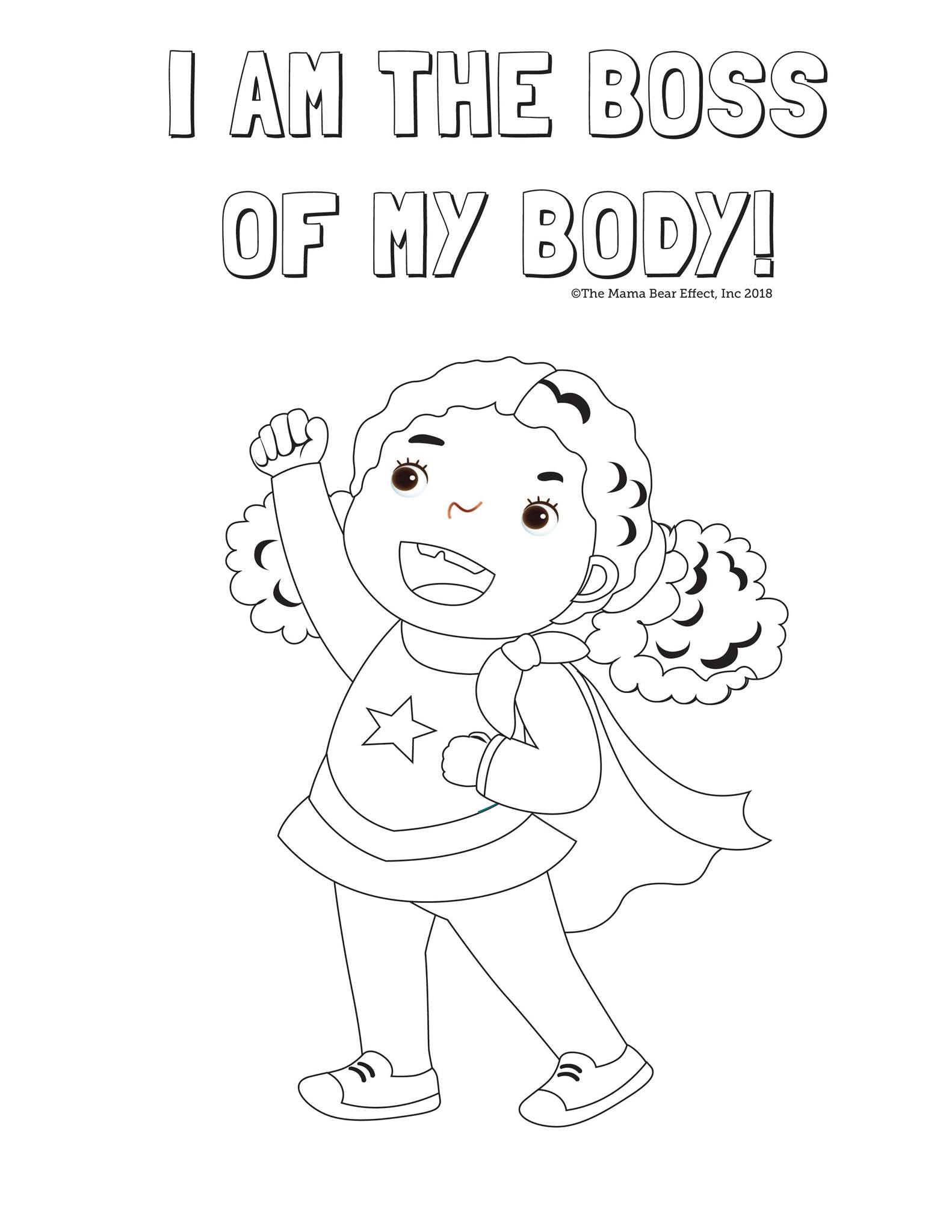 Coloring Pages The Mama Bear Effect