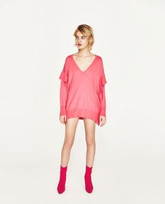 Flounce Sweater £25.99