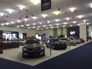 showroom floor 2 SCV auto show