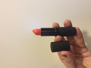 MeMeMe lipstick Chara Tuscan Red lip monthly review december