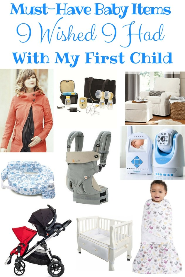 must-have baby items, peg perego, ergobaby, medela, my breast friend, halo, baby jogger