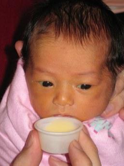 cup feeding, manual breast expression, breast milk, breastfeeding, baby friendly initiative