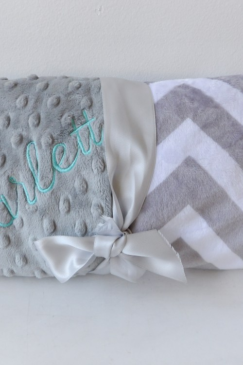 "Personalized Blanket by ""Baby Boo's Designs"""