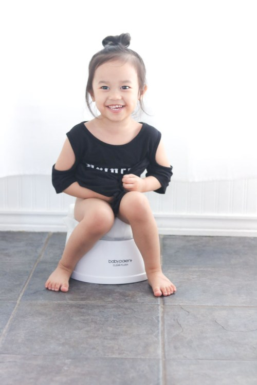 My Firstborn is Finally Potty Trained! + GIVEAWAY
