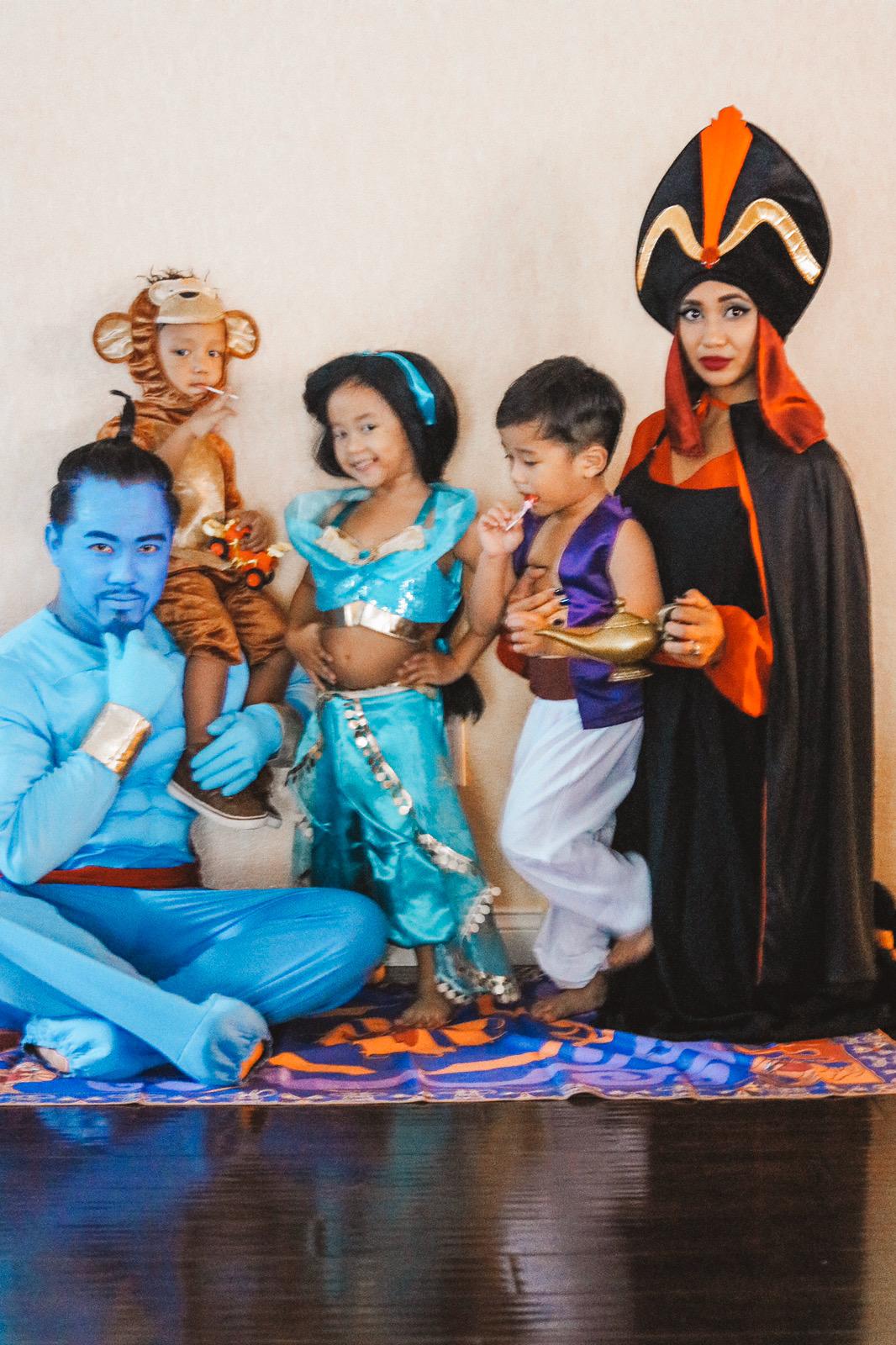 Aladdin Family Costume