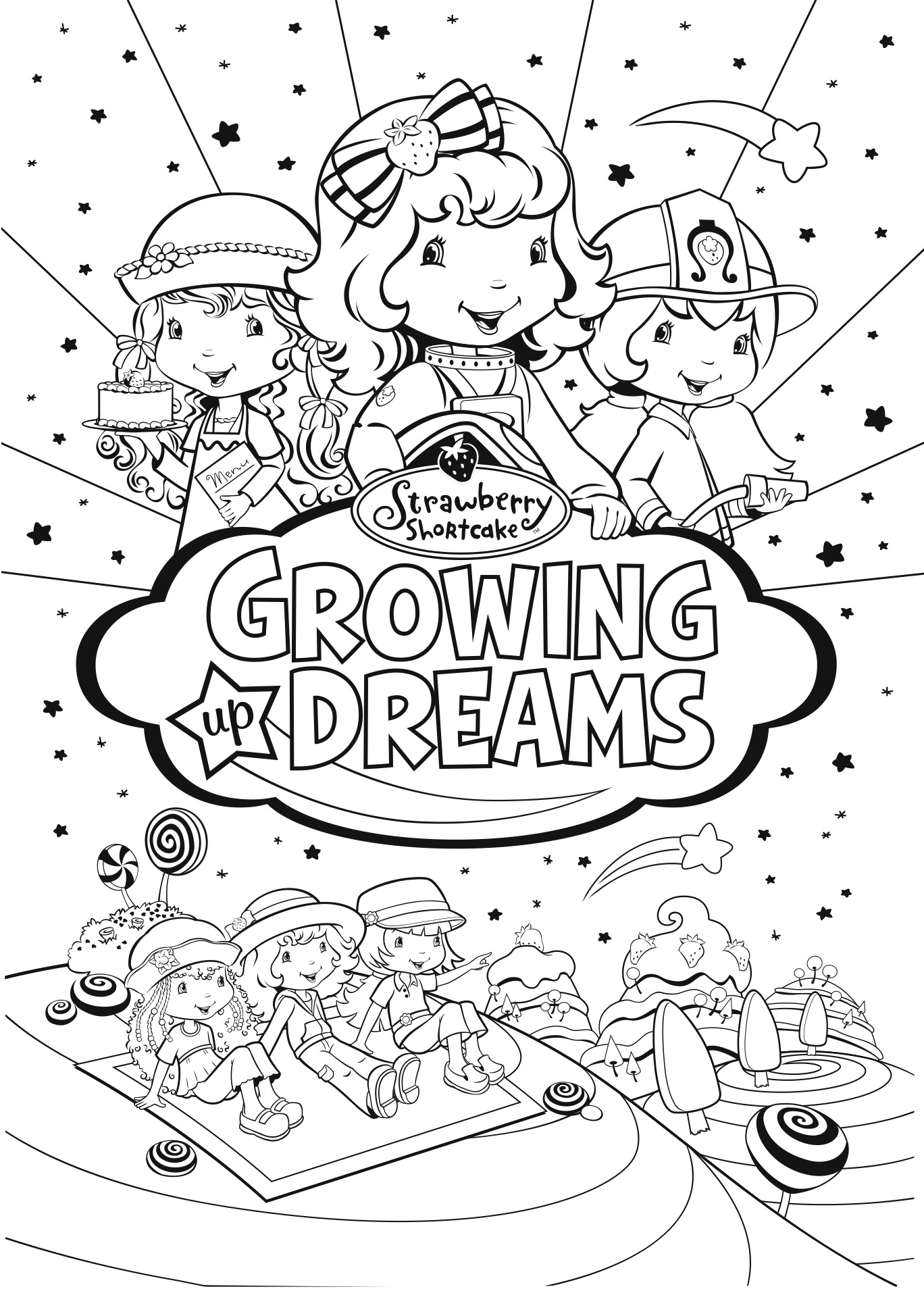 COLORING DREAMING PAGE « Free Coloring Pages