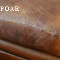 How To Repair A Leather Sofa From Cat Scratches Nail Trim On Home The Honoroak