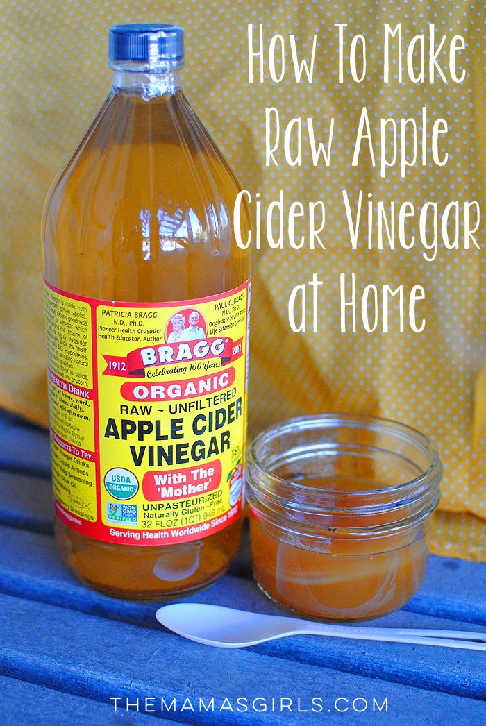 how to make diy raw apple cider vinegar