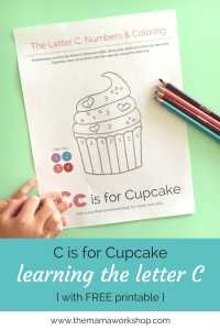 Letter C Activity Worksheet