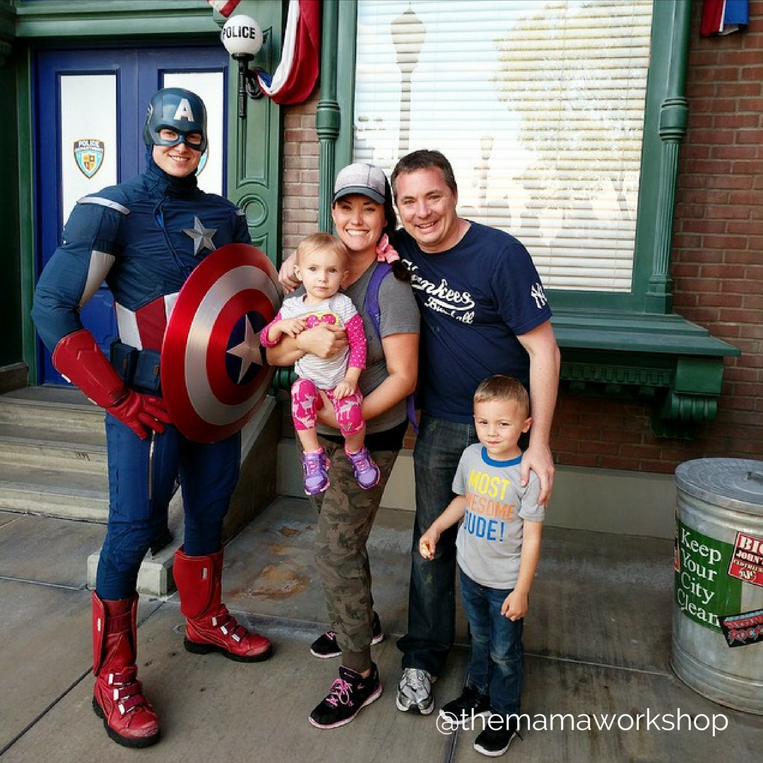 Meet Captain America California Adventure