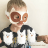 Owl Mask and Owl Babies