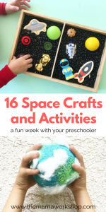 16 Space Activities for Preschoolers