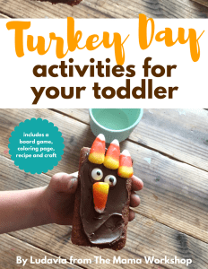 Turkey Day Activities eBook Cover
