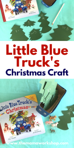 Little Blue Truck's Christmas Craft