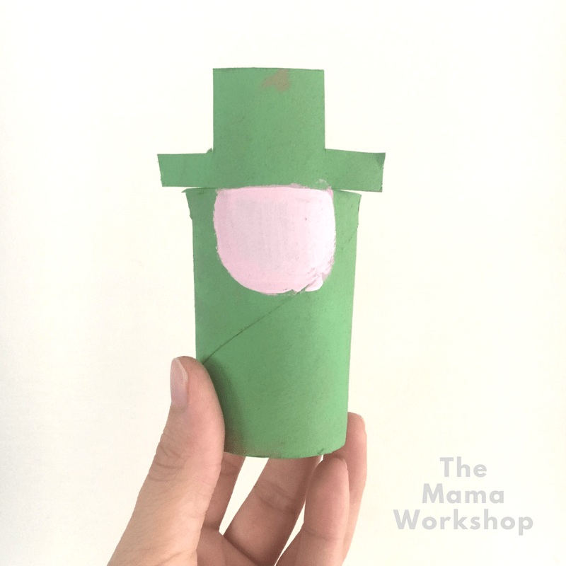 Leprechaun Craft for Kids - Face