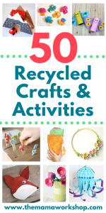 50 Earth Day Crafts Using Recycled Materials