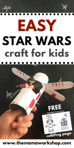 Star Wars Craft for Kids – X Wing