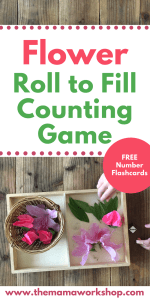 Flower Roll to Fill Counting Game
