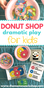 How to Setup a Donut Shop Dramatic Play Area