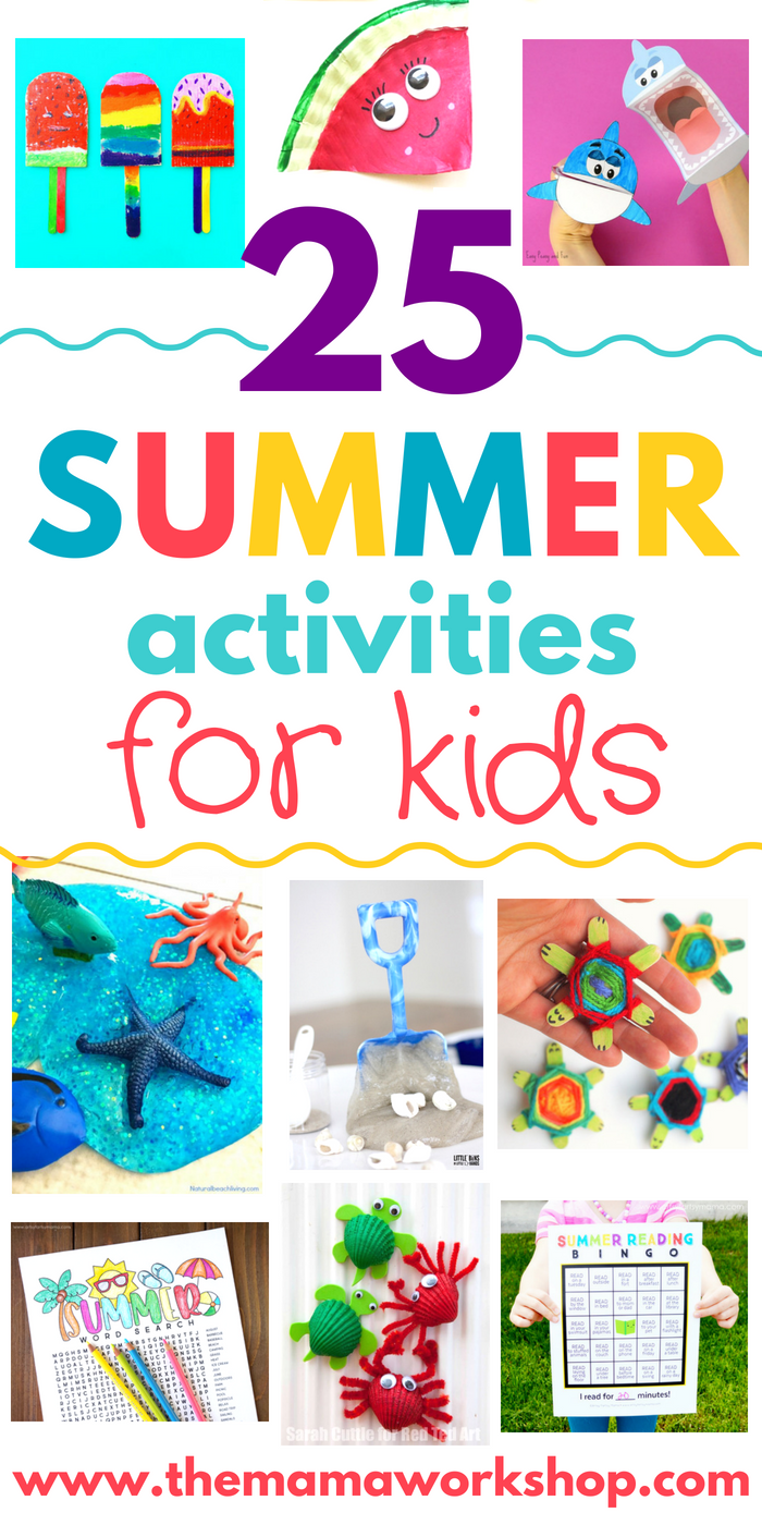How Should I Say It Workshop For >> Summer Activities For Kids Pinterest The Mama Workshop