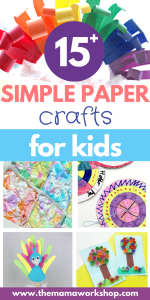 15 Simple Paper Crafts to Do With Your Kids