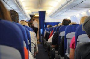 row of seat aircraft