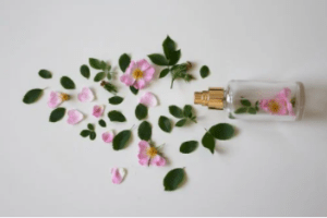 perfume and flowers