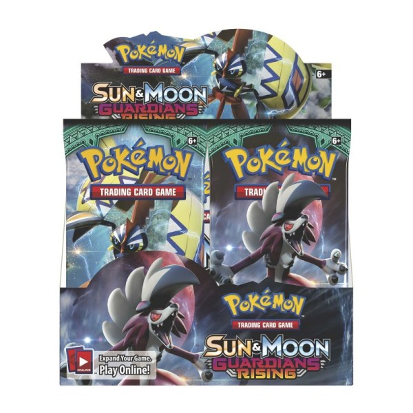 Pokemon - Sm2 Guardians Rising Booster Display 36 Boosters Mana